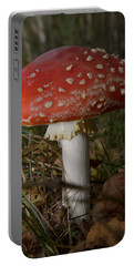 Amanita Muscaria Portable Battery Charger