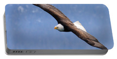 Portable Battery Charger featuring the photograph American Bald Eagle by Doug Lloyd