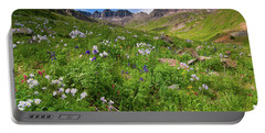 American Basin Wildflowers Portable Battery Charger