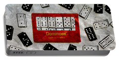 American Passtime Dominoes Portable Battery Charger