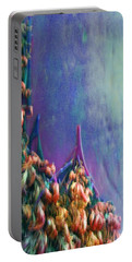 Portable Battery Charger featuring the digital art Ancesters by Richard Laeton