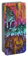 Portable Battery Charger featuring the digital art Ancient Footsteps by Richard Laeton