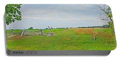 Portable Battery Charger featuring the photograph Antietam Battle Of The Cornfield by Cindy Manero