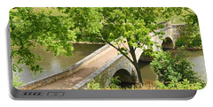Portable Battery Charger featuring the photograph Antietam's Burnside Bridge by Cindy Manero