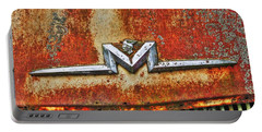 Antique Mercury Auto Logo Portable Battery Charger by Dan Stone