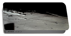 Apollo 11 Approaching Landing Site Portable Battery Charger by Nasa