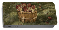 Apples In Basket Portable Battery Charger