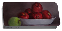 Apples -still Life Portable Battery Charger