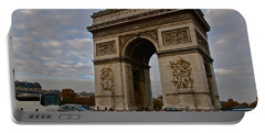 Portable Battery Charger featuring the photograph Arc De Triomphe by Eric Tressler