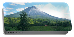 Portable Battery Charger featuring the photograph Arenal by Eric Tressler