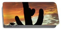 Arizona Sunrise 01 Portable Battery Charger by Rand Swift
