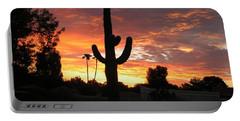 Arizona Sunrise 03 Portable Battery Charger by Rand Swift