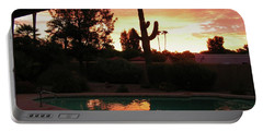 Arizona Sunrise 04 Portable Battery Charger by Rand Swift