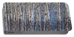 Aspen Grove Portable Battery Charger by Colleen Coccia