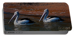 Australian Pelicans Portable Battery Charger