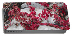 Autumn Color Is Red Portable Battery Charger