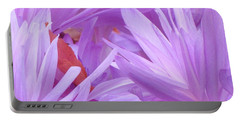 Autumn Crocus Portable Battery Charger