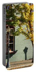 Autumn Detail In Old Town Grants Pass Portable Battery Charger by Mick Anderson