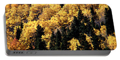 Autumn In Colorado Painting Portable Battery Charger