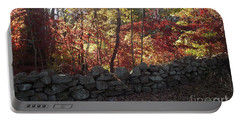 Autumn In New England Portable Battery Charger