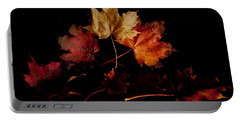 Portable Battery Charger featuring the photograph Autumn Leaves by Beverly Cash