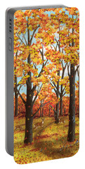 Autumn Meadow Portable Battery Charger