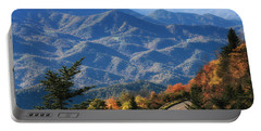 Autumn On The Blue Ridge Parkway Portable Battery Charger by Lynne Jenkins