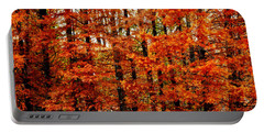 Autumn Red Maple Landscape Portable Battery Charger