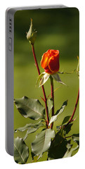 Autumn Rose Portable Battery Charger by Mick Anderson