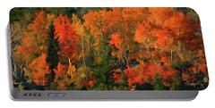 Autumn Water Colors  Portable Battery Charger