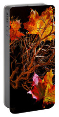 Portable Battery Charger featuring the photograph Autumnal Feelings by Beverly Cash