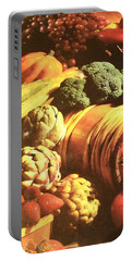 Portable Battery Charger featuring the photograph Autumn's Bounty by Sharon Duguay