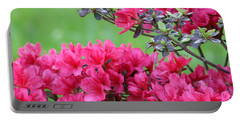 Portable Battery Charger featuring the photograph Azalea by Andrea Anderegg