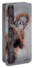 Baby Orangutan  Portable Battery Charger