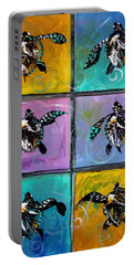 Baby Sea Turtles Six Portable Battery Charger