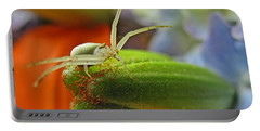 Portable Battery Charger featuring the photograph Back Off by Debbie Portwood