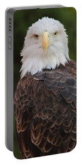 Bald Eagle Portable Battery Charger by Coby Cooper