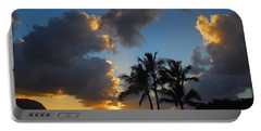 Portable Battery Charger featuring the photograph Bali Hai Sunset by Lynn Bauer