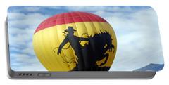 Portable Battery Charger featuring the photograph Balloon 24 by Deniece Platt