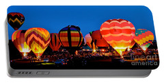 Balloon Glow Portable Battery Charger by Mark Dodd