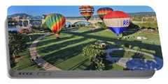 Balloons In Coolidge Park Portable Battery Charger