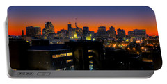 Portable Battery Charger featuring the photograph Baltimore At Sunset by Mark Dodd