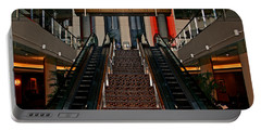 Baltimore Stairway Portable Battery Charger by Karen Harrison