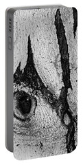 Bark Eye Portable Battery Charger by Colleen Coccia