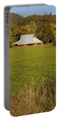 Barn Near Murphy Portable Battery Charger by Mick Anderson