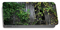 Barn Window Vine Portable Battery Charger