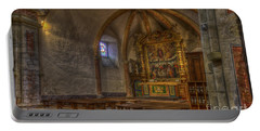 Baroque Church In Savoire France 3 Portable Battery Charger