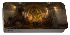 Baroque Church In Savoire France Portable Battery Charger