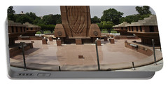 Base Of The Jallianwala Bagh Memorial In Amritsar Portable Battery Charger by Ashish Agarwal