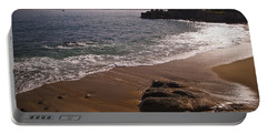 Beach At Monteray Bay Portable Battery Charger by Darcy Michaelchuk